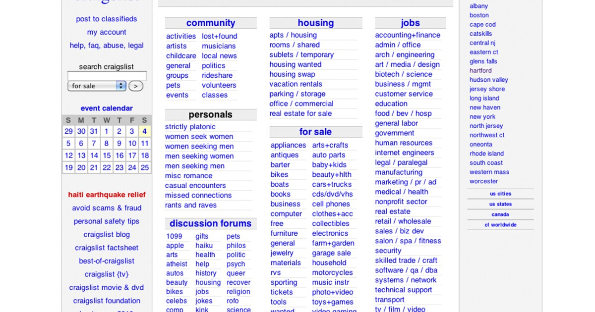 Craigslist Shuts Down Personals Section After Congress Passes Bill On Trafficking Wyso 754 harmon ave, columbus 43223. wyso
