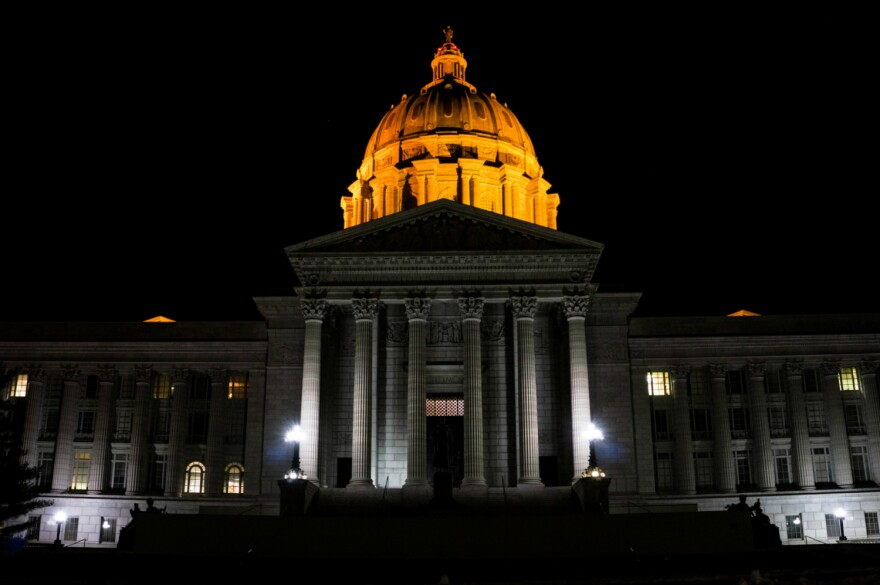 Missouri Capitol in Jefferson City, 2016
