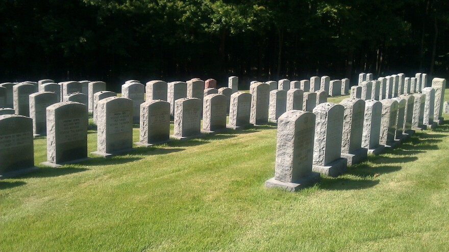 Part of the promise of Roosevelt:  Every resident is guaranteed a place in the town's cemetery.