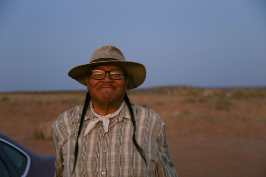 Aldean Ketchum, resident of White Mesa and Bear Dance chief
