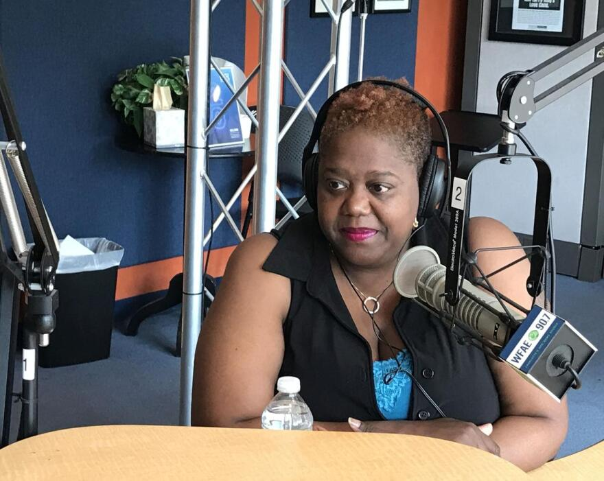 Charlotte city councilwoman LaWana Mayfield joined Charlotte Talks' Mike Collins on May 22 to discuss her recent controversial comments on social media.