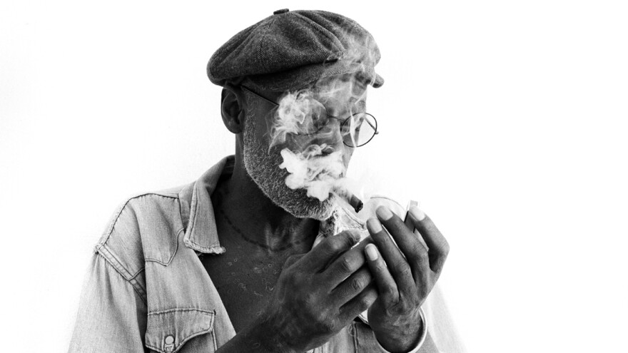 Filmmaker and musician Melvin Van Peebles' new album with the London band The Heliocentrics is titled <em>The Last Transmission</em>.