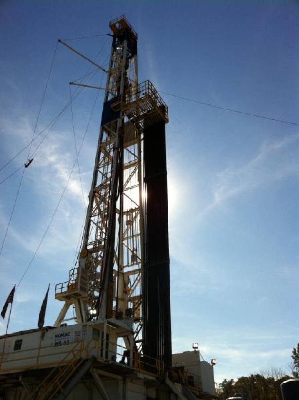 Utica Shale Drillling RIg