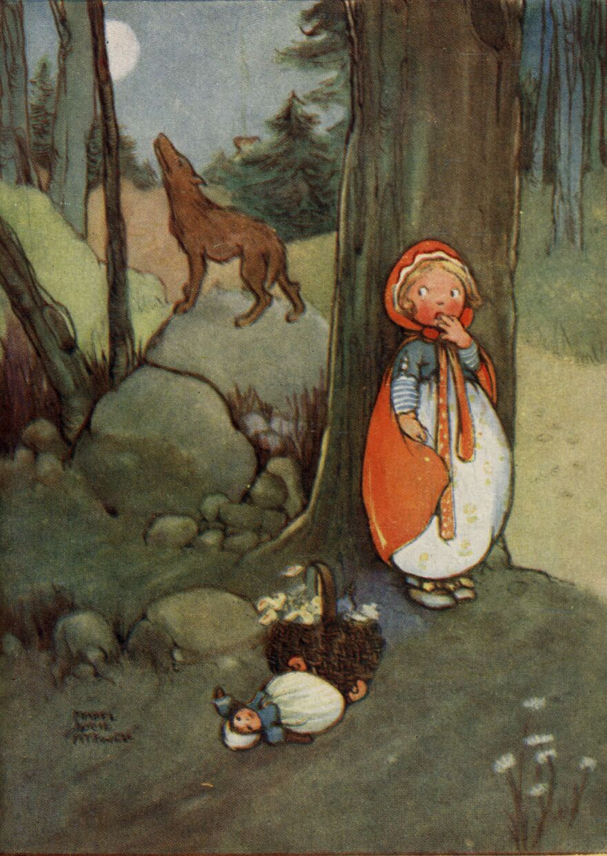 """Jack Zipes developed a storytelling program in Minneapolis in which kids rewrite the story of Little Red Riding Hood based on """"what if"""" questions, such as: What if the wolf had been a vegetarian?"""