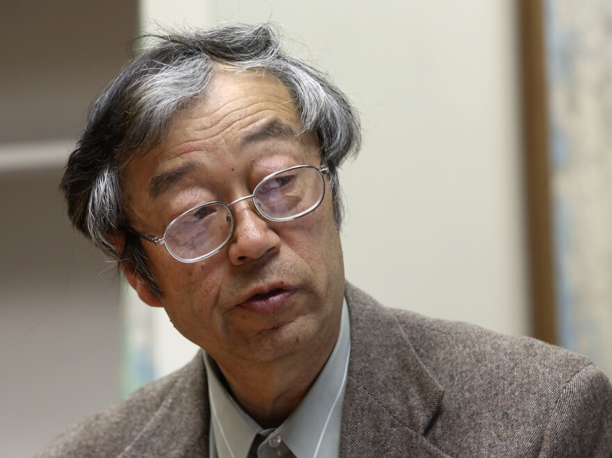 Is this Satoshi Nakamoto, the mysterious founder of Bitcoin? He says no.