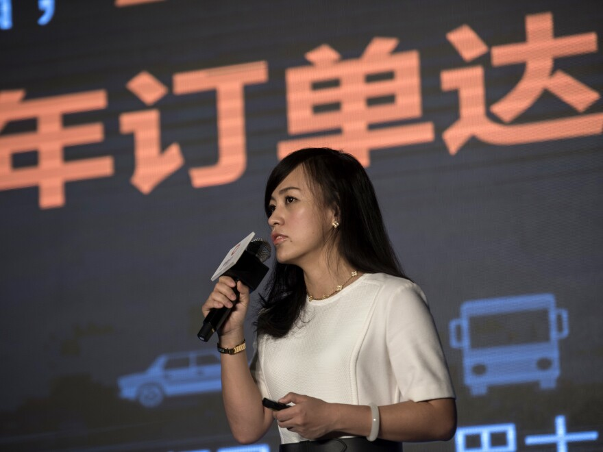 Liu Qing is the president of Didi Chuxing, China's leading ride-hailing company, worth an estimated $35 billion.
