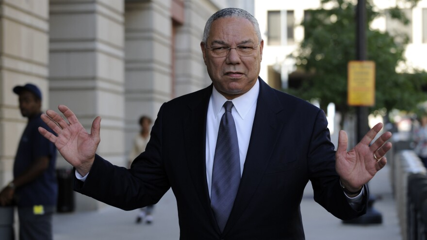 Former Secretary of State Colin Powell, seen here in Washington in 2008.