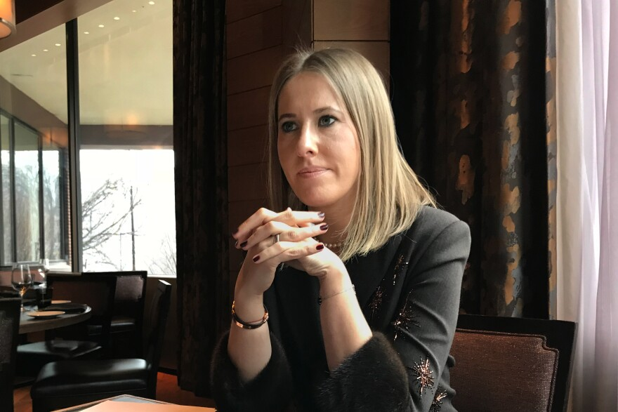 Ksenia Sobchak, a Russian TV personality with a huge social media following, is running for president in Russia against the incumbent, President Vladimir Putin.