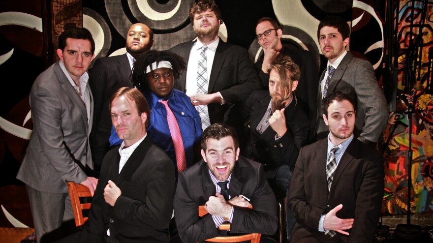 Virginia's No BS! Brass Band adopts and ultimately expands the brass-band tradition.