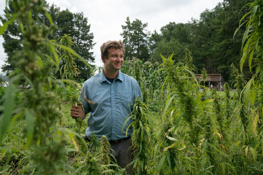Brian Walden hoped by having hemp planted at Washington's historic home, the crop could get a very public image makeover.