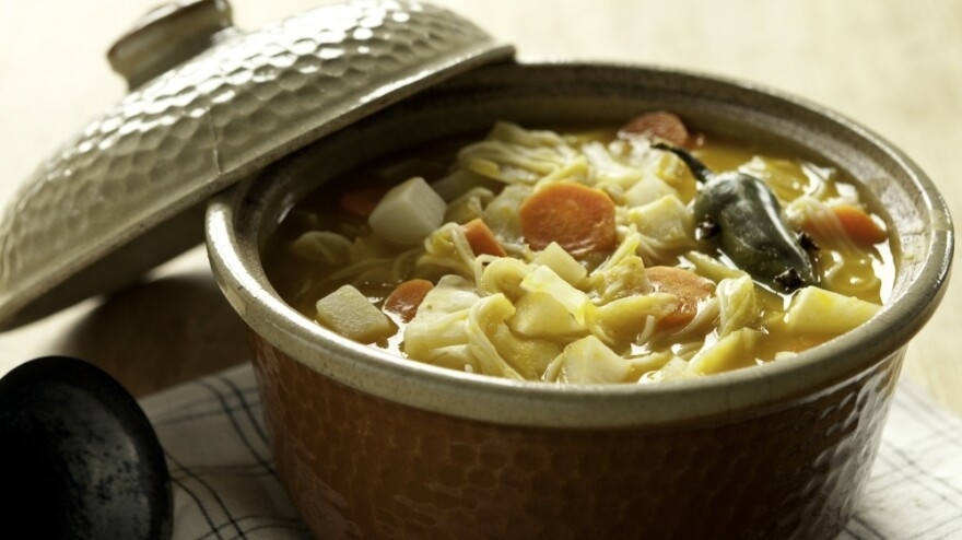 Haitians celebrate their independence from France on Jan. 1 each year with a traditional squash soup called <em>soup joumou</em>.