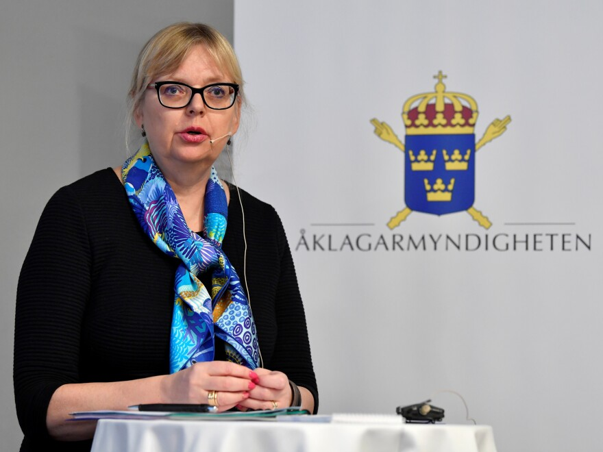 "Deputy Director of Public Prosecution Eva-Marie Persson says ""the evidential situation has been weakened to such an extent"" that the inquiry into Julian Assange shouldn't continue."