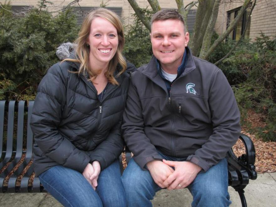 """Scott and Ali Ferry turned to Roger Betz when Scott's father died to figure out what to do with the dairy farm. """"Roger's influence and participation in this transition probably single-handedly ... helped us save our farm to be where we are today."""""""