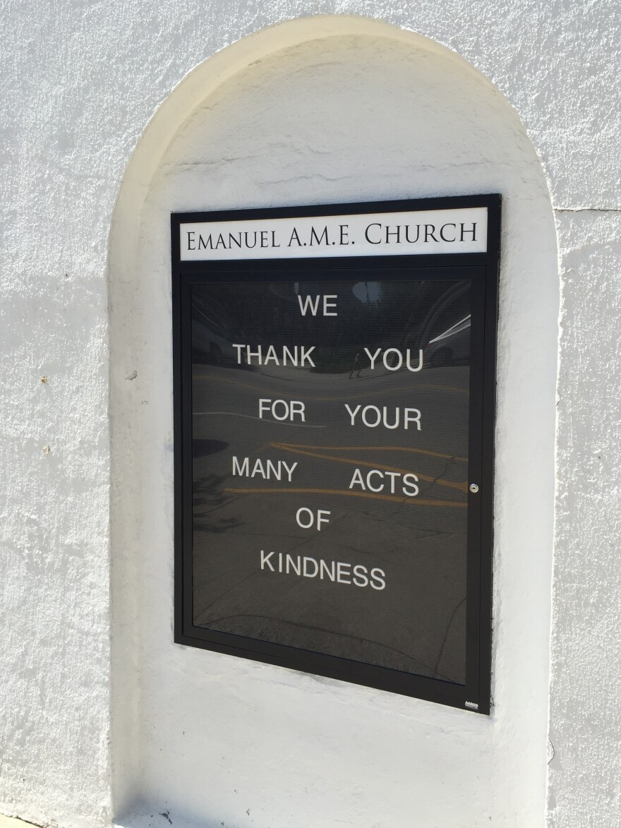 """Emanuel African Methodist Episcopal Church started here in the early 1800s, and is affectionately known as """"Mother Emanuel"""" because it is the oldest AME church in the South."""