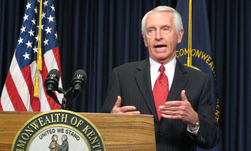 Kentucky's Democratic governor, Steve Beshear, has gotten considerable attention for embracing President Obama's Affordable Care Act and adopting the Common Core educational standards.