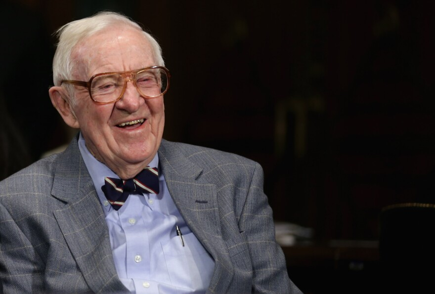 Former Supreme Court Associate Justice John Paul Stevens likens making pot illegal to Prohibition. In his new book, <em>Six Amendments,</em> he proposes constitutional changes including a curb on an individual's right to bear arms.