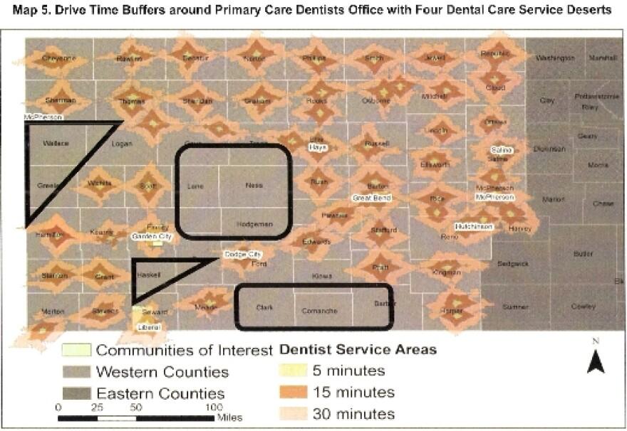 Dental Deserts