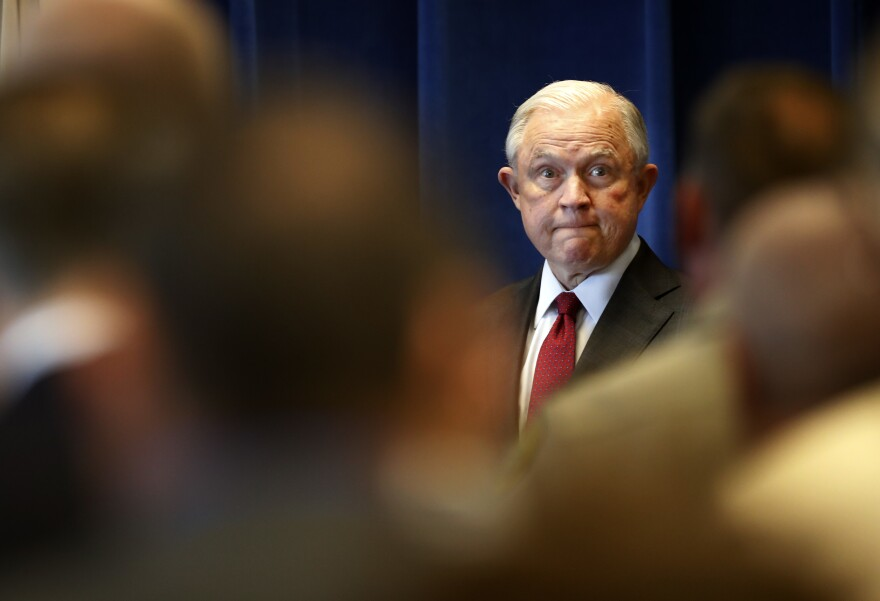 """Attorney General Jeff Sessions told a leadership summit this week: """"Whether you realize it or not, freedom of thought and speech on the American campus are under attack."""""""