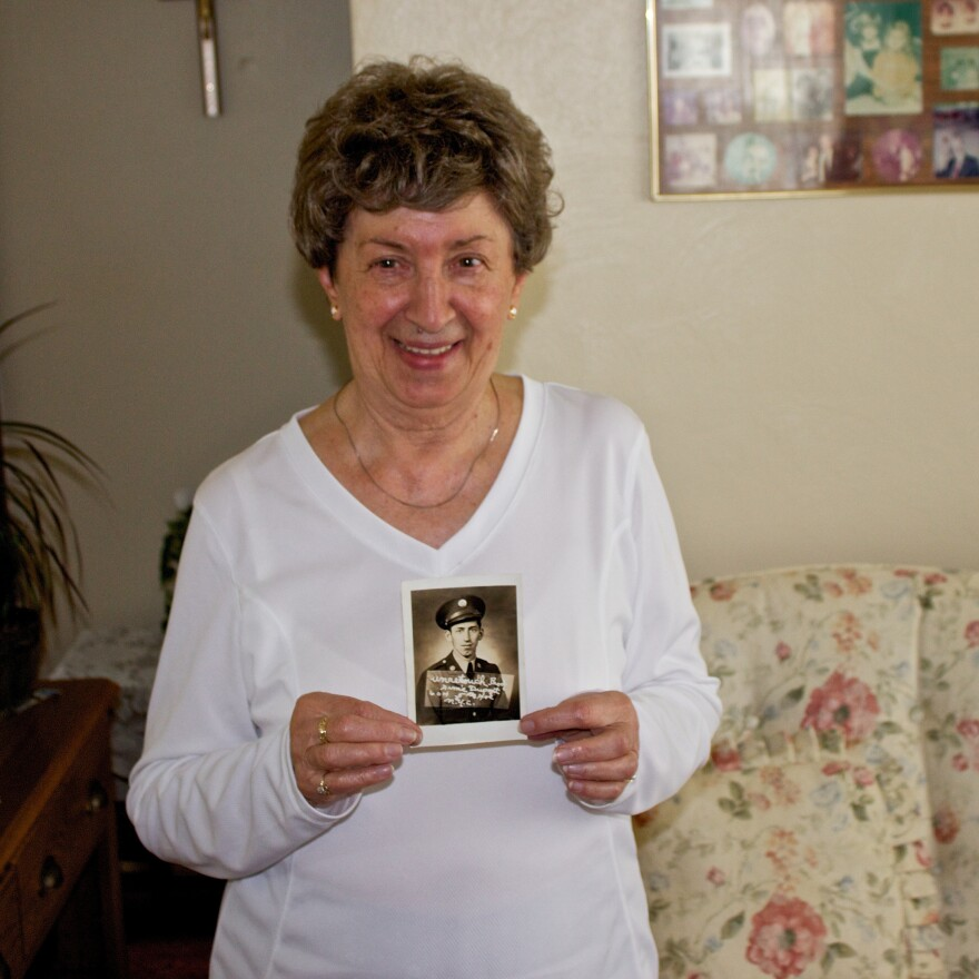 Irene Vigosky lost her brother, Eugene, in World War II. She has never visited his grave site in France.