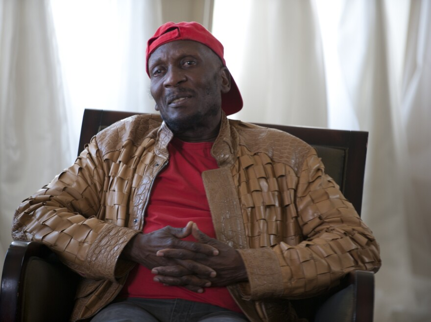 Reggae singer Jimmy Cliff recorded his album <em>Another Cycle</em> at Muscle Shoals Sound Studios.