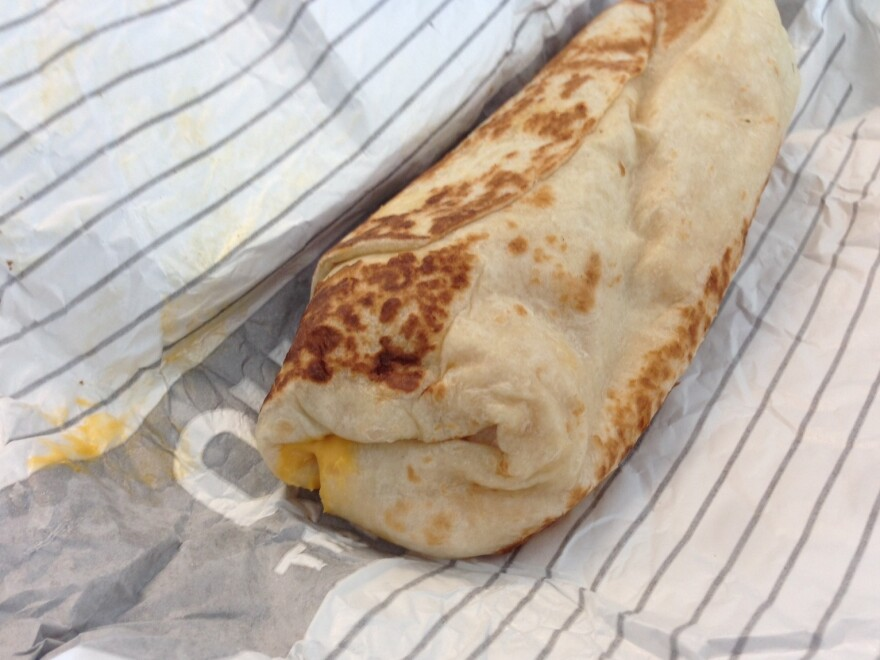Don't be fooled. This is no average burrito.
