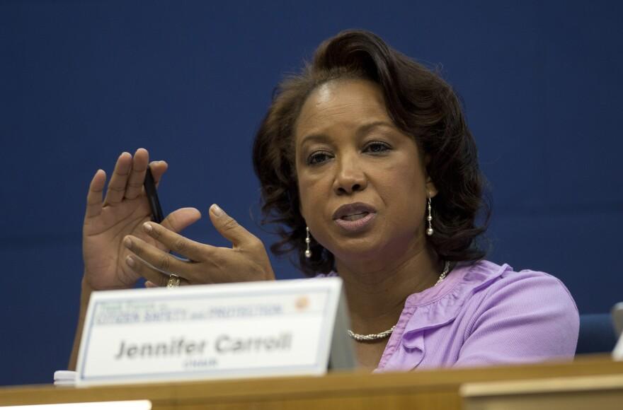 Former Florida Lt. Gov. Jennifer Carroll.