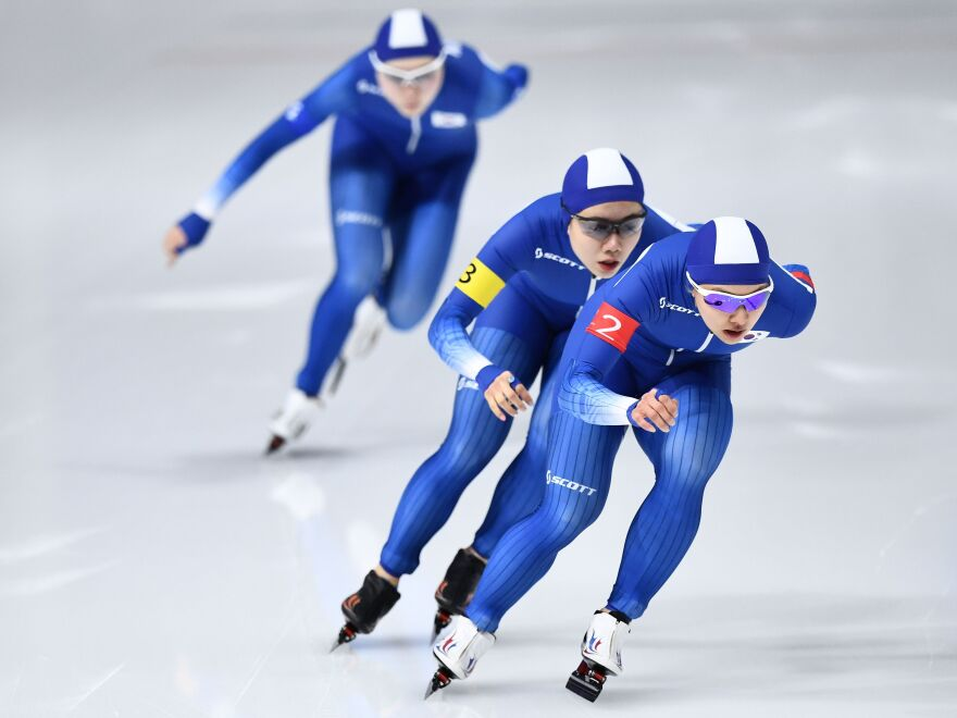 Two South Korean speedskaters face public outrage for unsportsmanlike behavior during a race. Now fans want them banned from the national team.