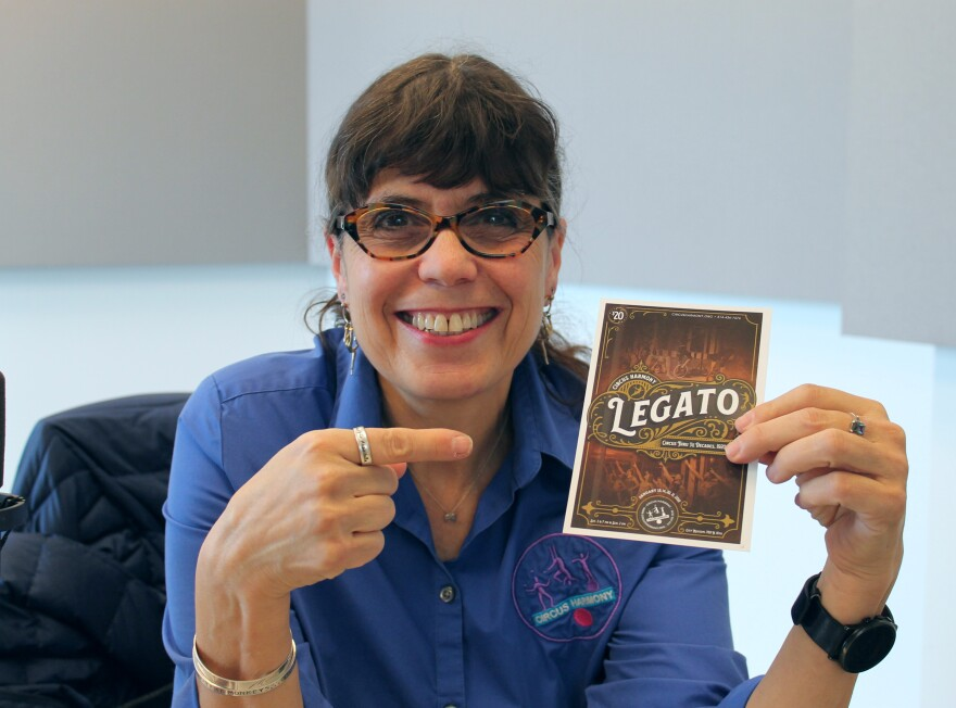 """Circus Harmony artistic and executive director Jessica Hentoff talks about their production, """"Legato."""""""