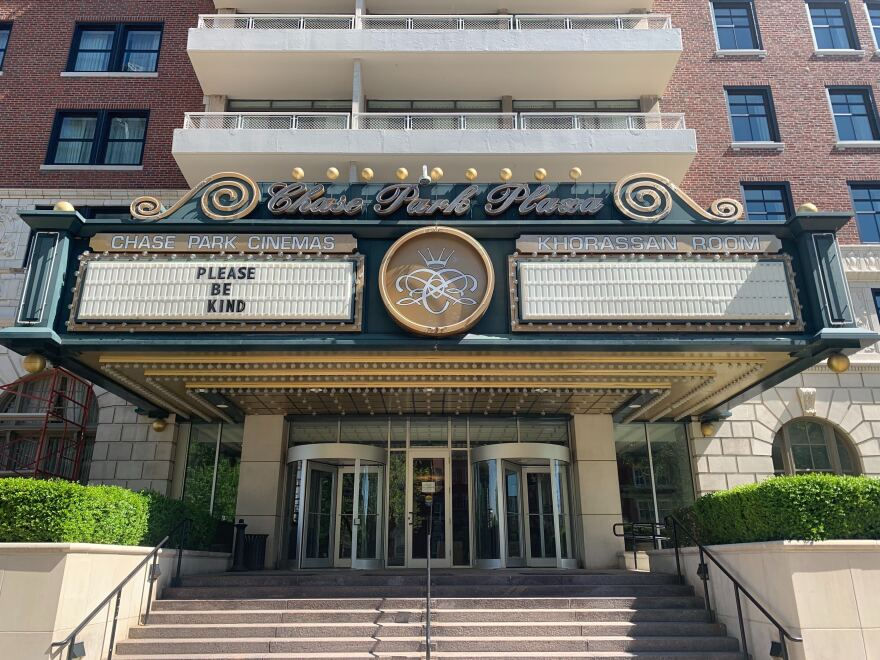 The Chase Park Plaza Cinemas is a part of St. Louis Cinemas.  Operator Harmon Moseley said when the theater reopens, it will implement safety measures to protect customers. May 1, 2020