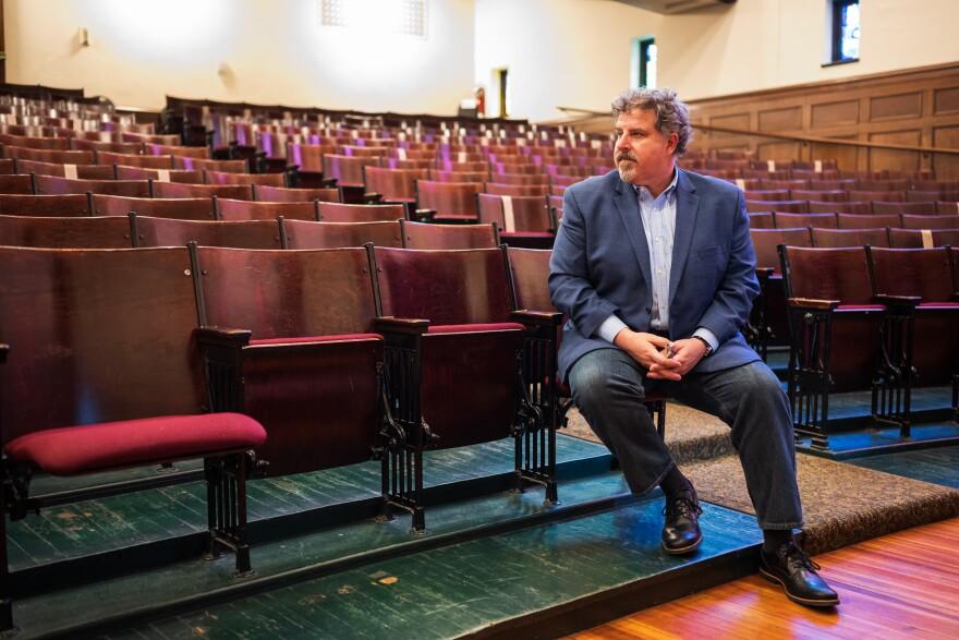 Sheldon Concert Hall Executive Director Peter Palermo