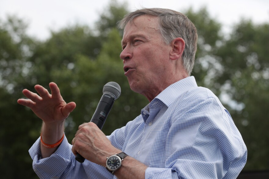 Former Colorado Gov. John Hickenlooper is considered one of the Democrats' strongest candidates for flipping a Republican-controlled Senate seat this fall. But he's made missteps that have led some voters to question whether they can support him ahead of the state's Tuesday primary.