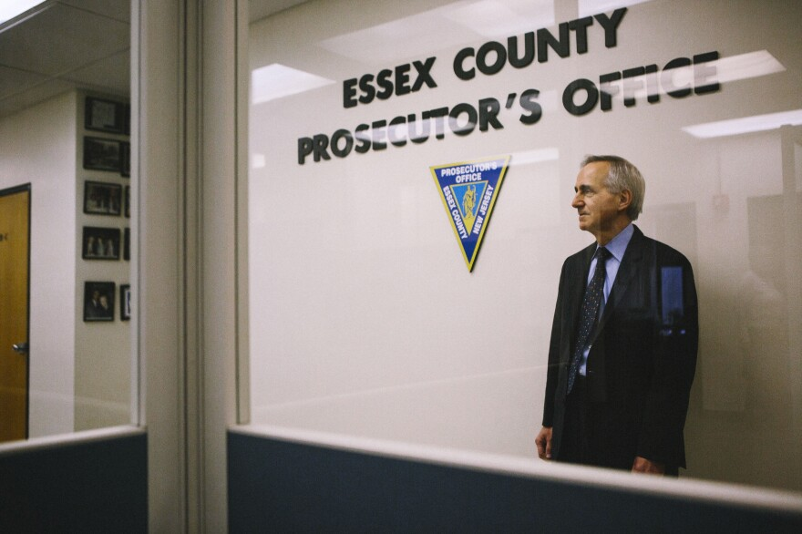Laurino stands inside his office in Newark. He helped to establish Wynona's House, New Jersey's largest child advocacy center in Newark, and to create Essex County's sexual assault response team.