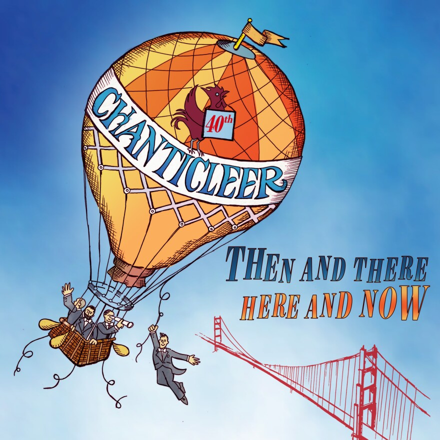 """Chanticleer's 19-track album """"Then and There, Here and Now"""" is set for release later this month."""