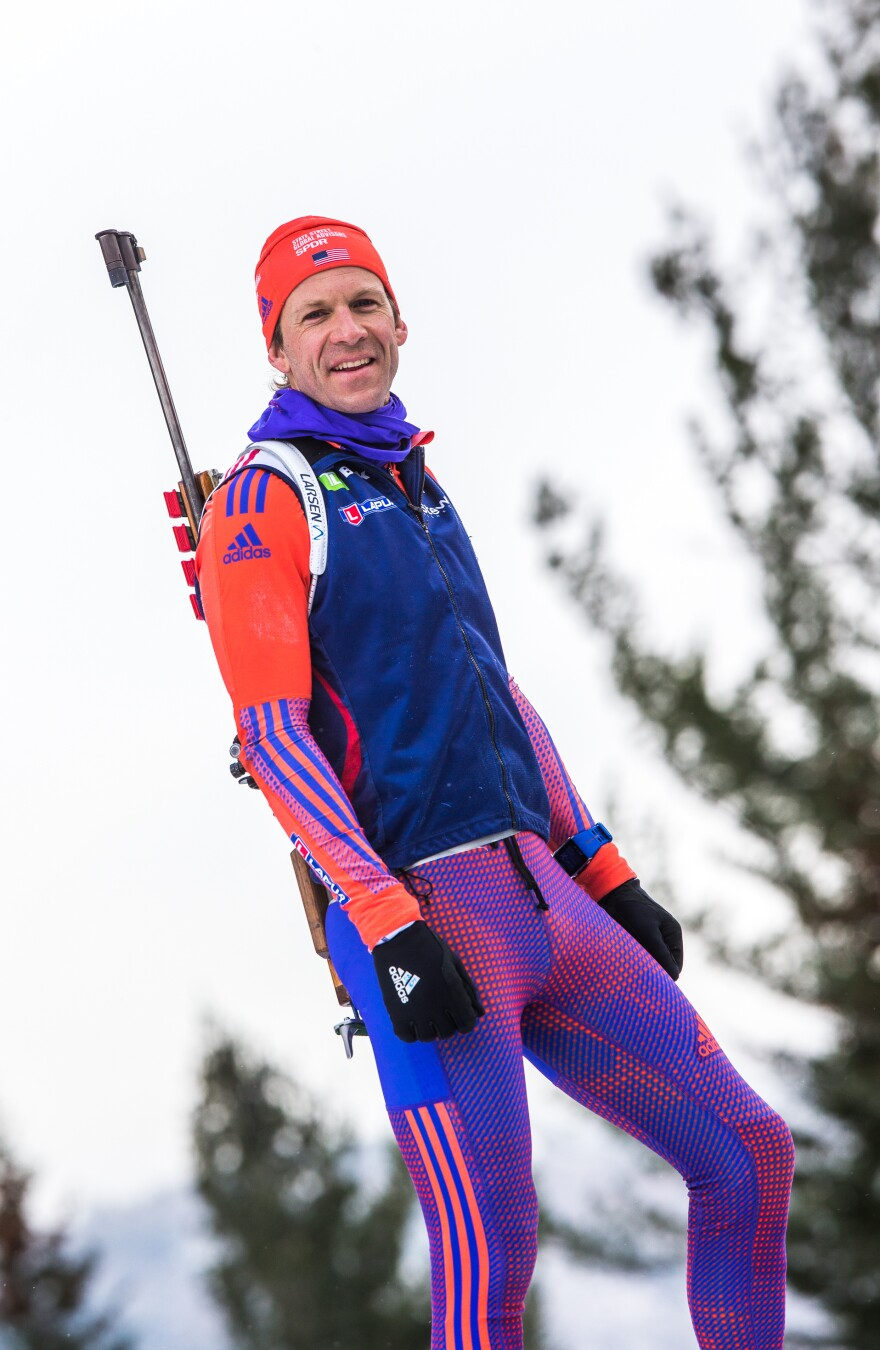 """""""I've never seen our team in such high spirits,"""" says biathlete <a href=""""https://www.teamusa.org/us-biathlon/athletes/lowell-bailey"""" data-key=""""471"""">Lowell Bailey</a>, 36, who will be competing in his fourth Olympics."""