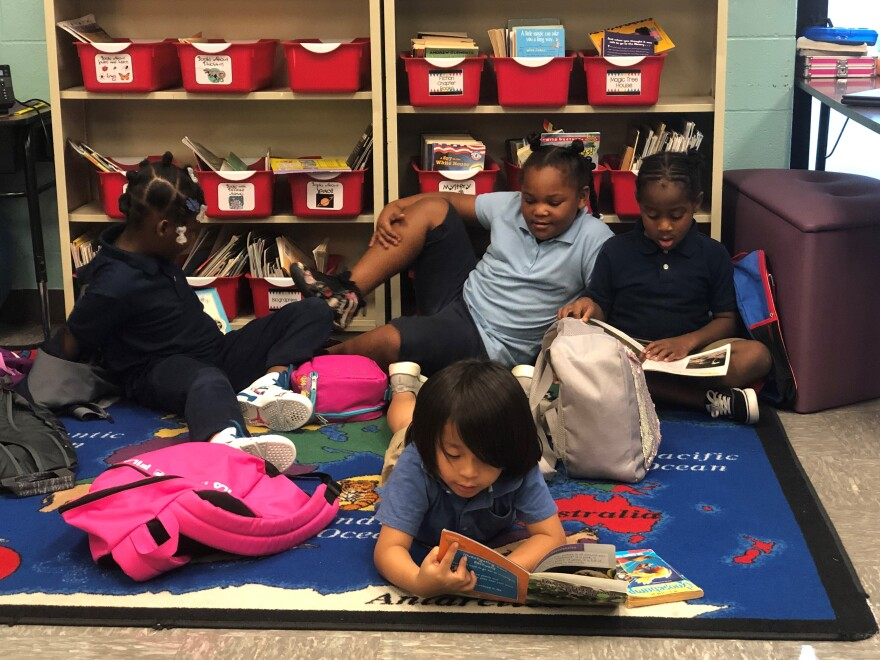 Pitcher Elementary in Kansas City spends $14,683 per pupil to educate students, which is about $650 less than the district average.