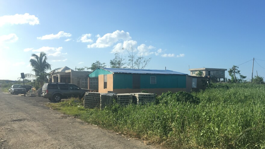 Villas del Sol is an informal community that was founded in 2010, after its residents were evicted from another parcel of land they had occupied without permission. The community has dozens of homes, but none have individual titles.
