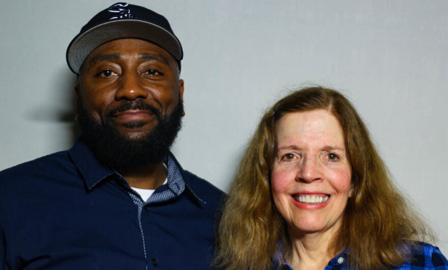 Keith Miller and Ellen Hughes both have sons with autism. At StoryCorps in February, Ellen tells Keith how grateful she is that he unexpectedly comforted her son during an emergency room visit last year.
