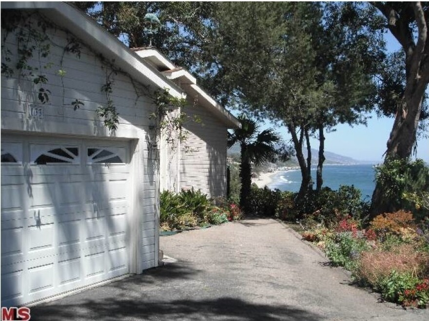 Not bad digs. The $2 million double-wide in Malibu.