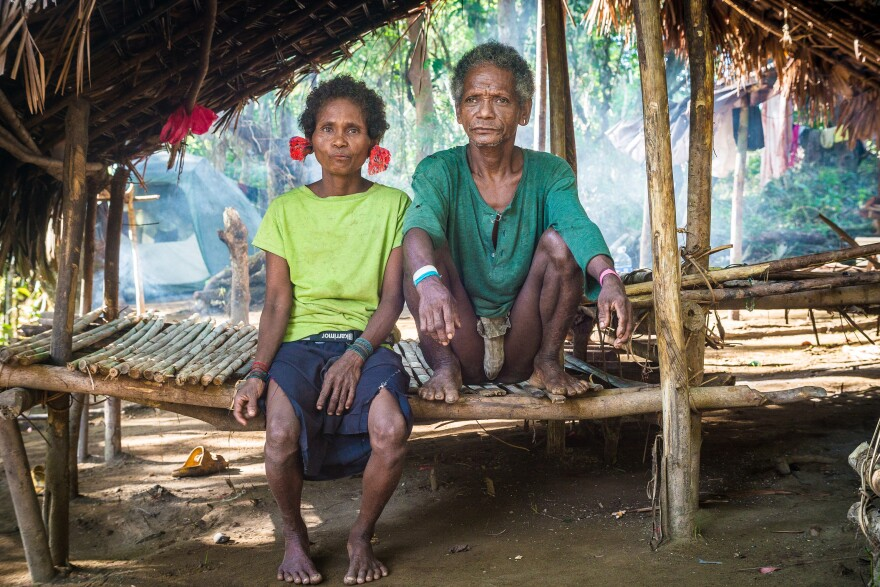 They hunt, they gather, they're equal! An elderly Agta couple in the Philippines was part of the study on how communities are formed.