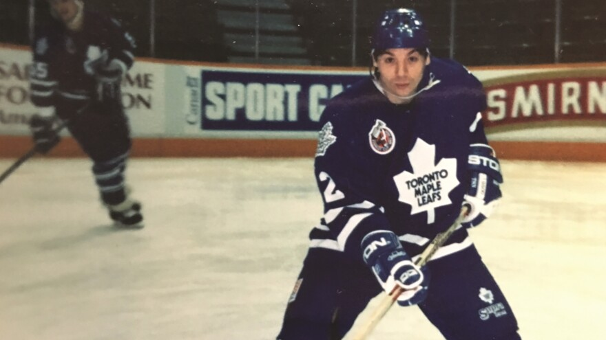 Comedian Mike Myers grew up an avid Toronto Maple Leafs fan, mostly playing street hockey on tennis courts in the suburb of Scarborough. The reason for his first visit to Chicago, where he would later perform with The Second City comedy troupe? To take in a Chicago Blackhawks game before the team's stadium was torn down.