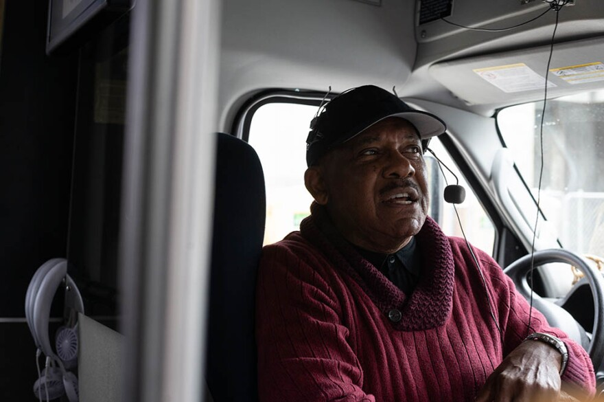 Alphonso Brown is the owner of Gullah Tours in Charleston, South Carolina. (Alvin C. Jacobs for Here & Now)