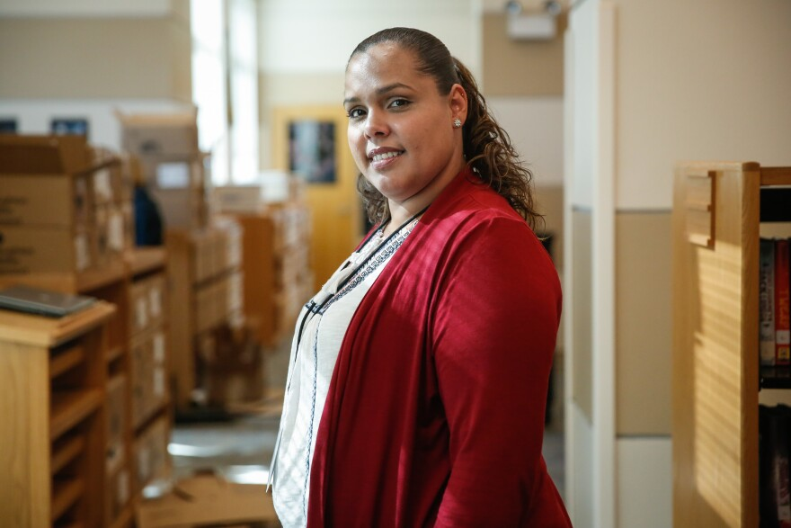 Yara Ramos is a veteran teacher from Camuy, Puerto Rico. She arrived in Orlando with her four children.