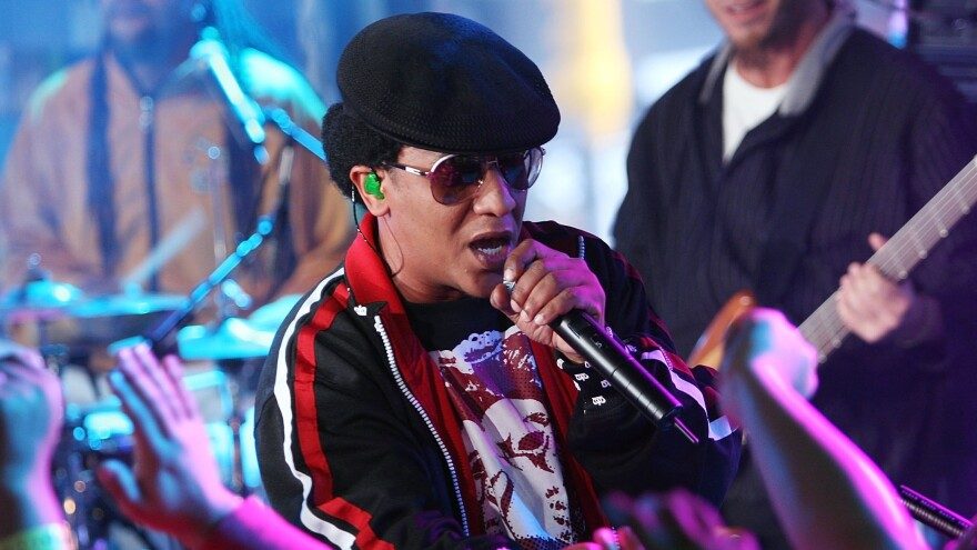 Tego Calderon, one of Reggaeton's top artists and producers, performs for fans in New York City.