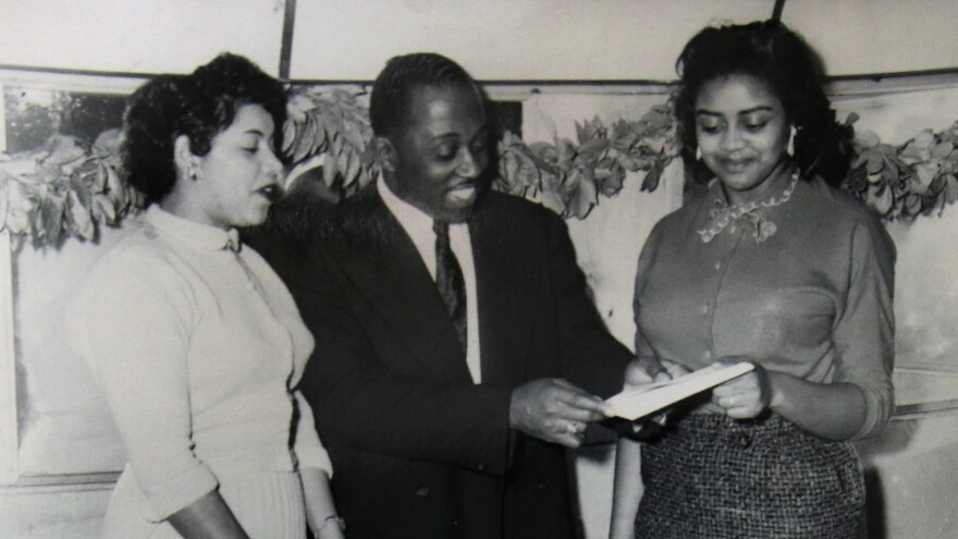 Minnie Forbes (right) took over as owner of the Detroit Stars from her uncle Ted Raspberry (center) in 1956. Forbes, now 88, is the last living Negro Leagues team owner.