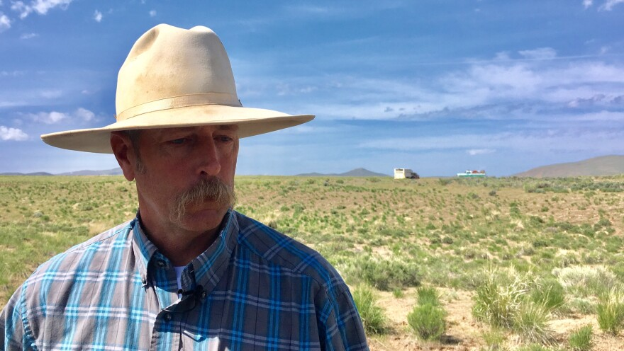 Jon Griggs has been ranching in northern Nevada for more than 30 years. Fires have always been a part of this landscape, he says, but in the past 20 years, he has seen a significant increase.