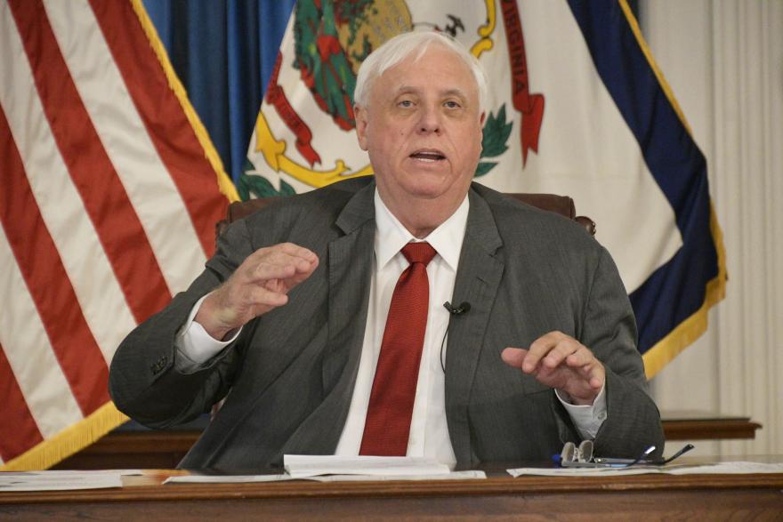 Governor Jim Justice speaks at his virtual press briefing, June 26, 2020