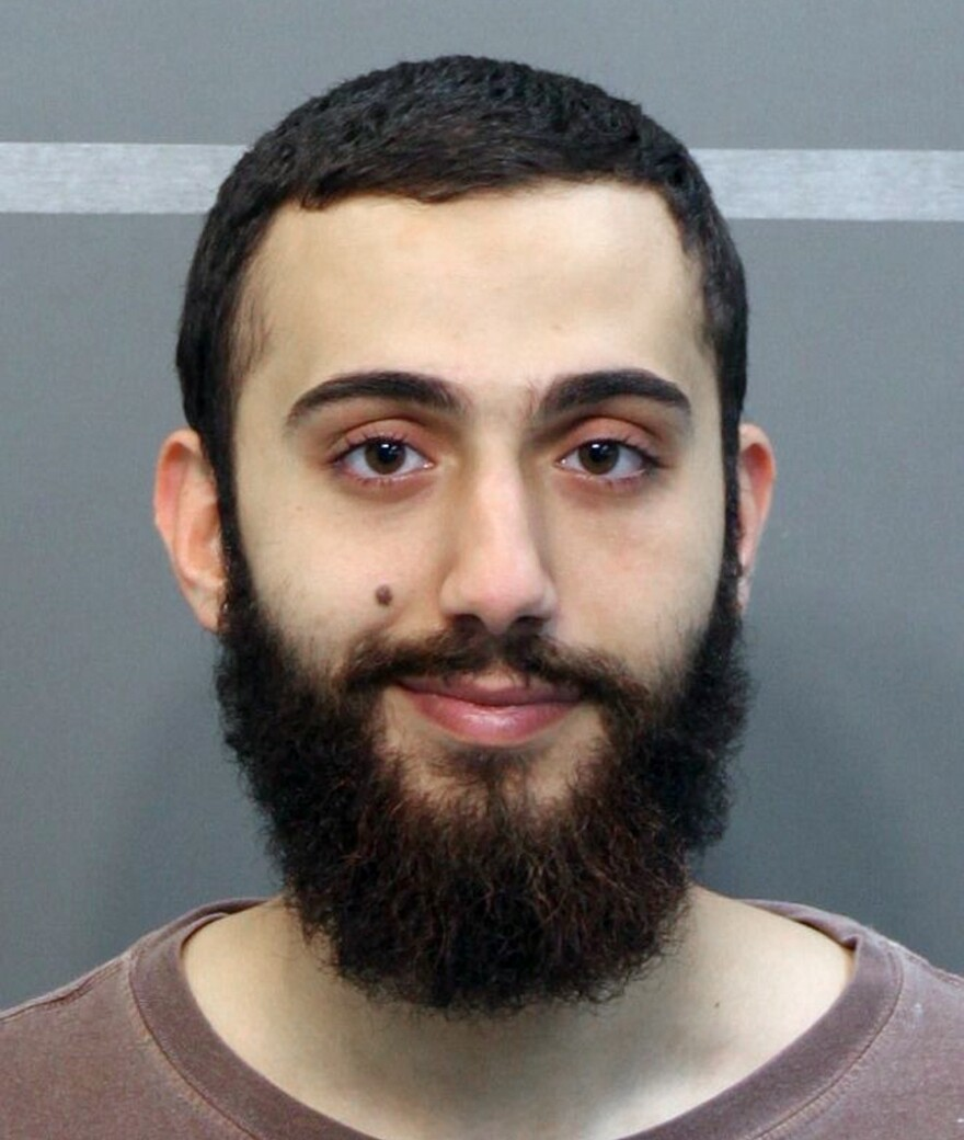 This booking photo taken in April and released by the Hamilton County, Tenn., sheriff's office shows a man identified as Mohammod Youssuf Adbulazeez after being detained on suspicion of a driving offense.