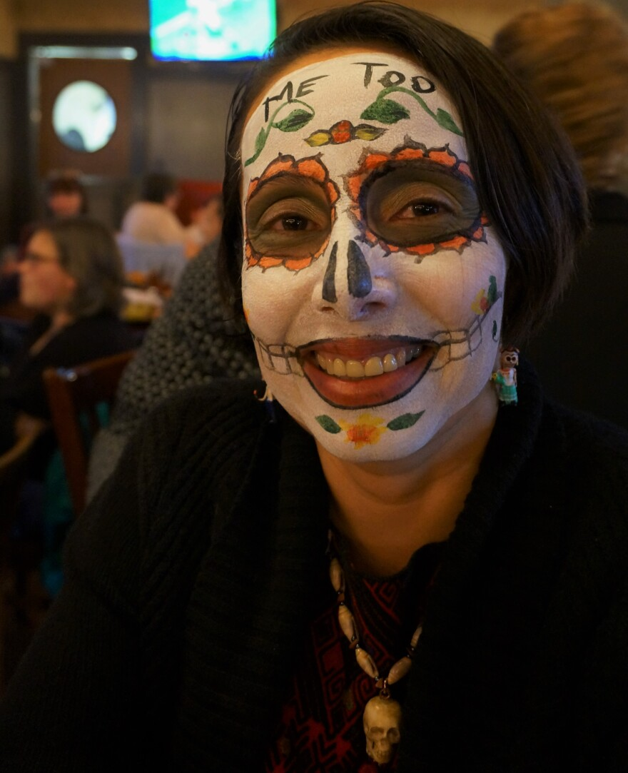 Gabriela Pickett runs the Missing Peace Art Space, which hosts Dayton's Day of the Dead Celebration.