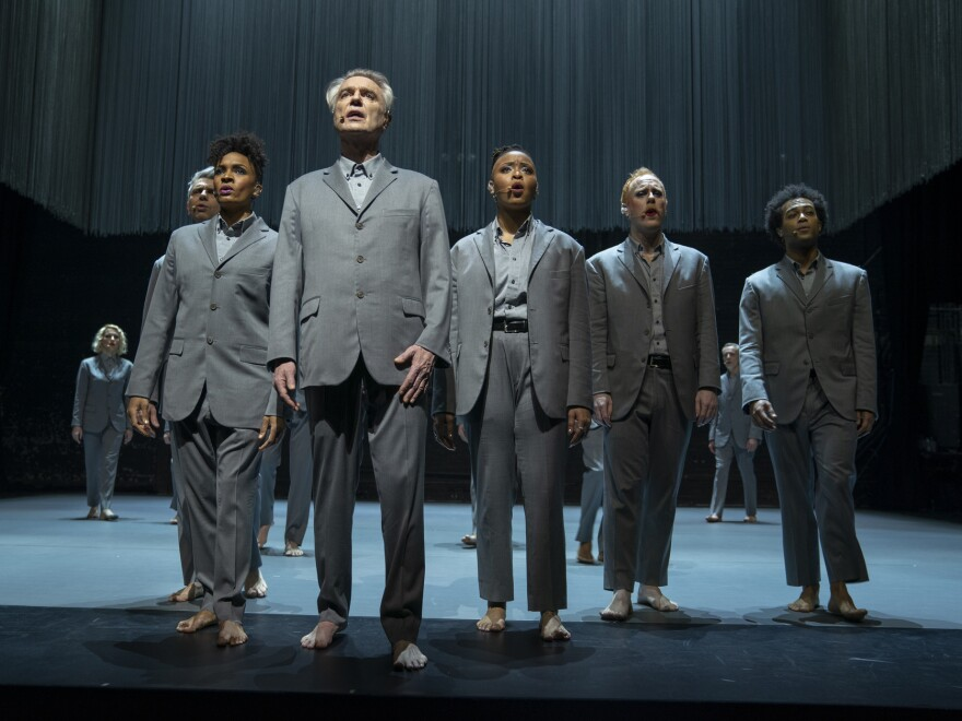 HBO's <em>David Byrne</em><em>'s American Utopia </em>captures a live performance of Byrne's acclaimed Broadway show.