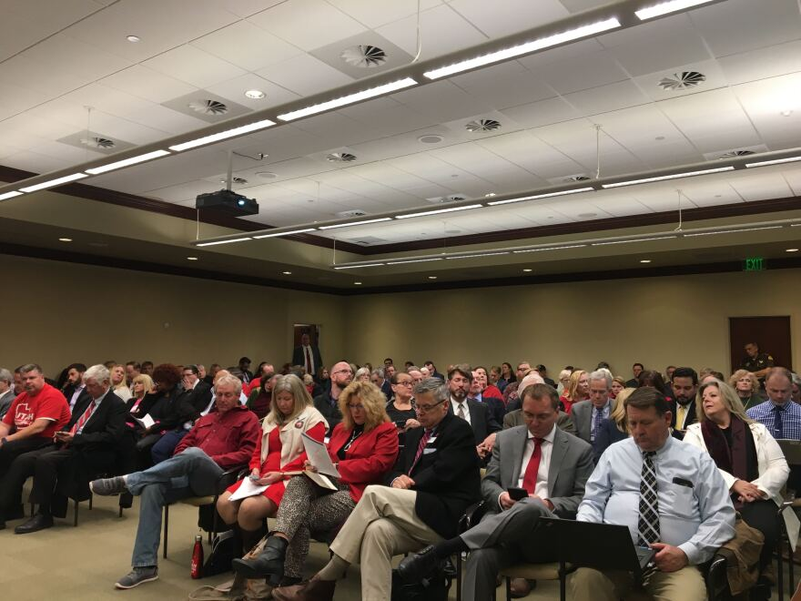 Photo of attendees at the meeting.